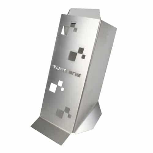 Turn One Fussstütze Aluminium
